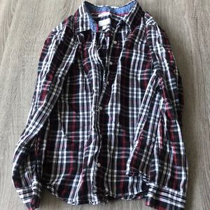 Chapter Club flannel top